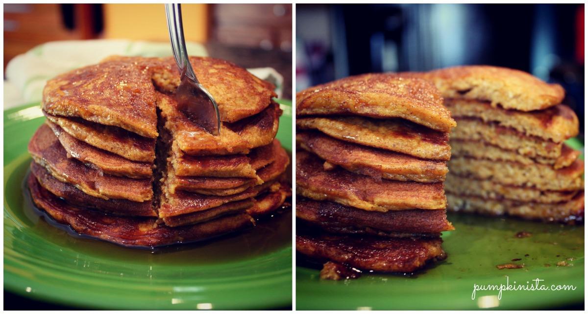Pumpkin Pie Paleo Pancakes