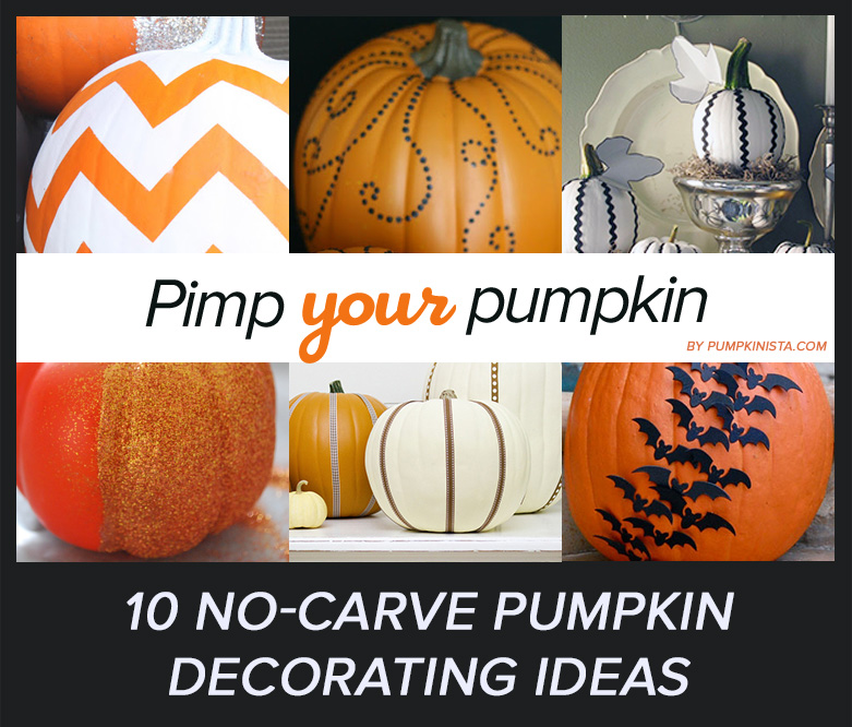 No carve pumpkin ideas